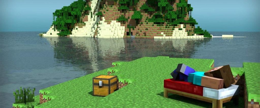 Minecraft: todo un mundo que explorar y moldear a tu antojo.