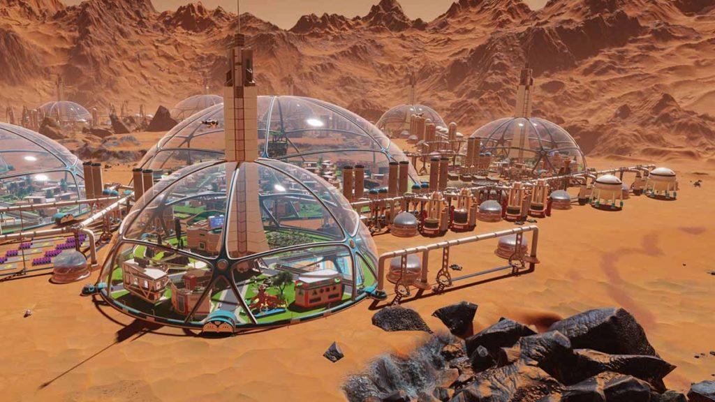 Colonizando Marte desde casa