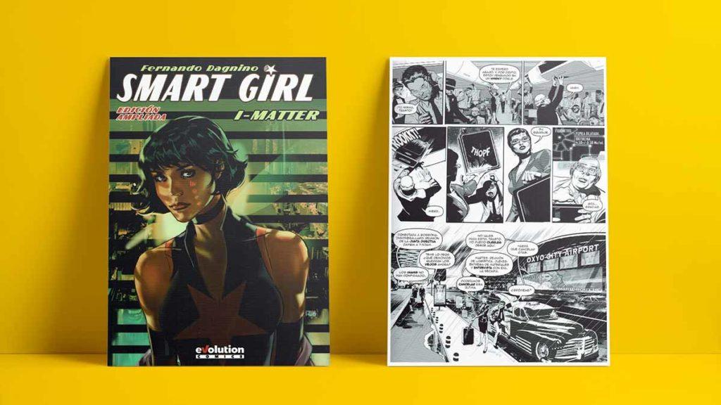 Smart Girl, una novela gráfica de Fernando Dagnino.